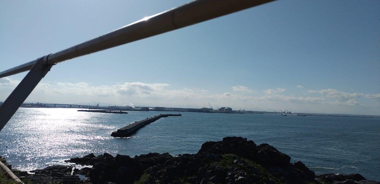 蕪島の景色