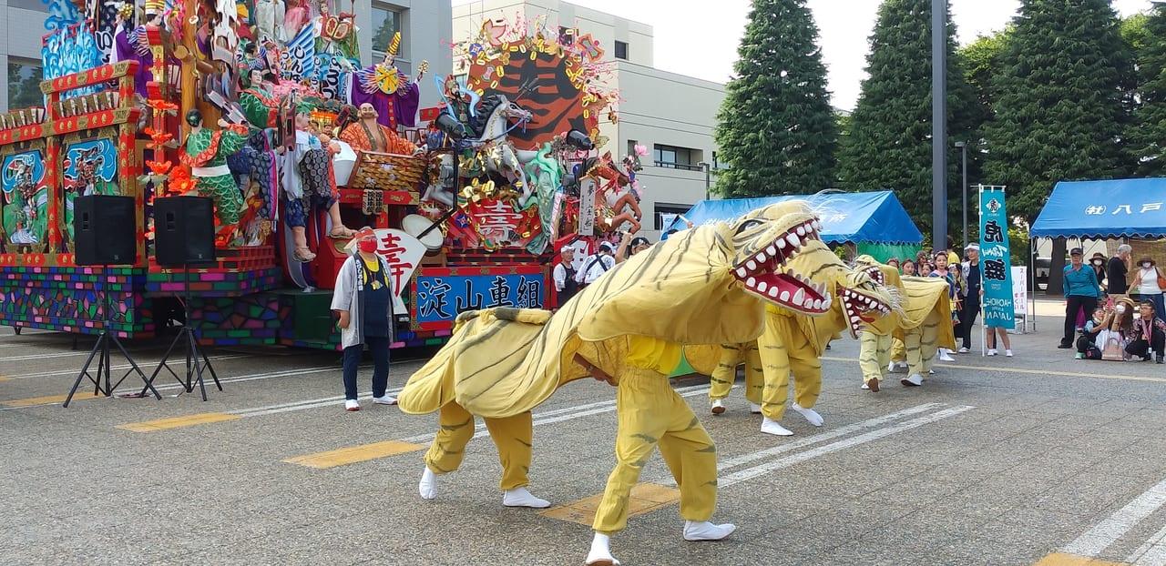 2020 八戸三社大祭 虎舞
