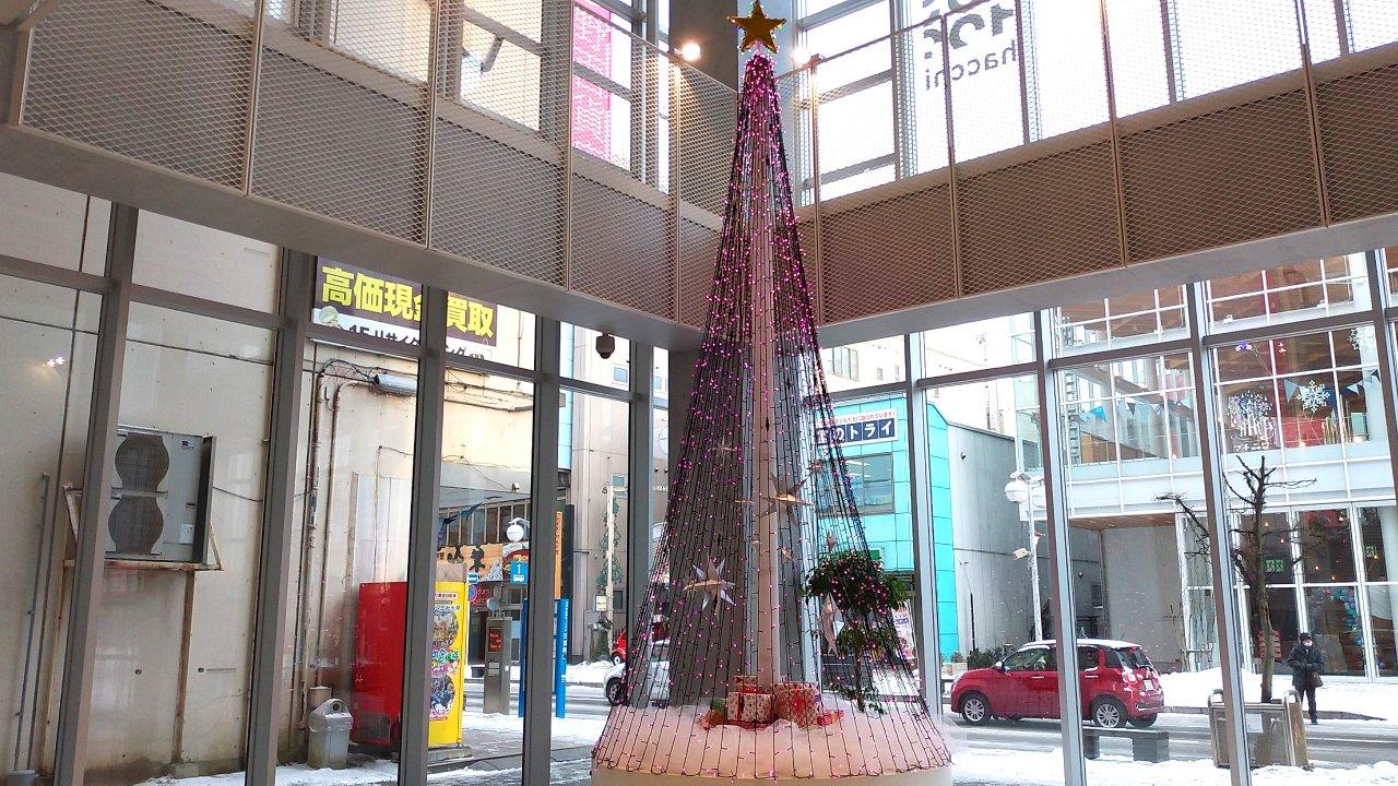 八戸ポータルミュージアムはっち クリスマスツリー