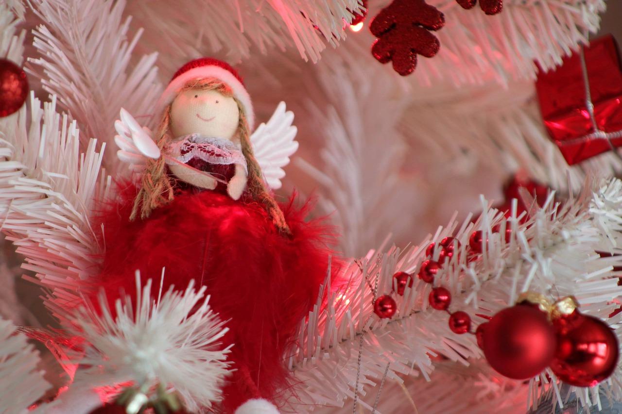 クリスマス ホワイトツリー